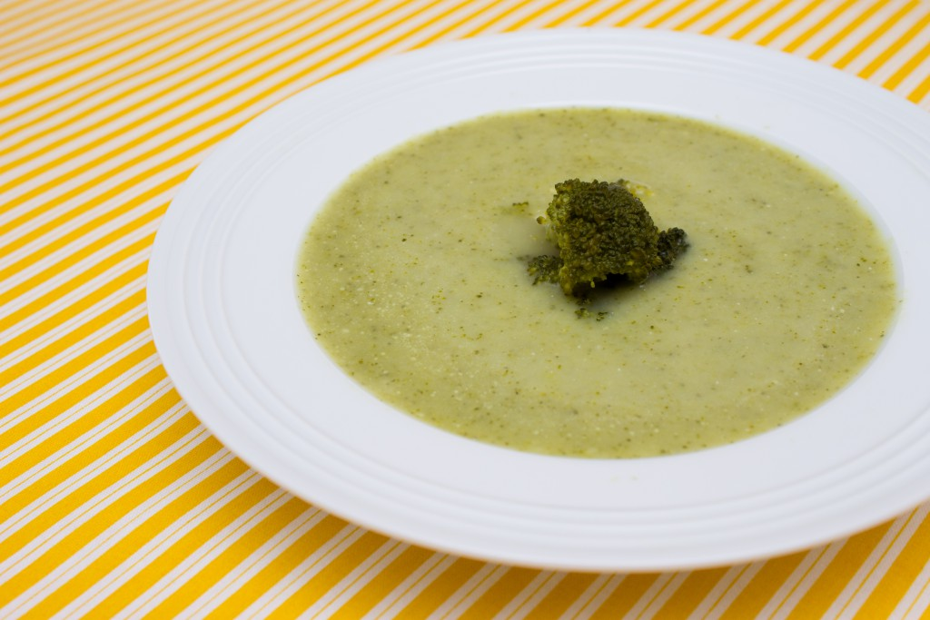 Cuketovo-brokolicová polévka 2-1