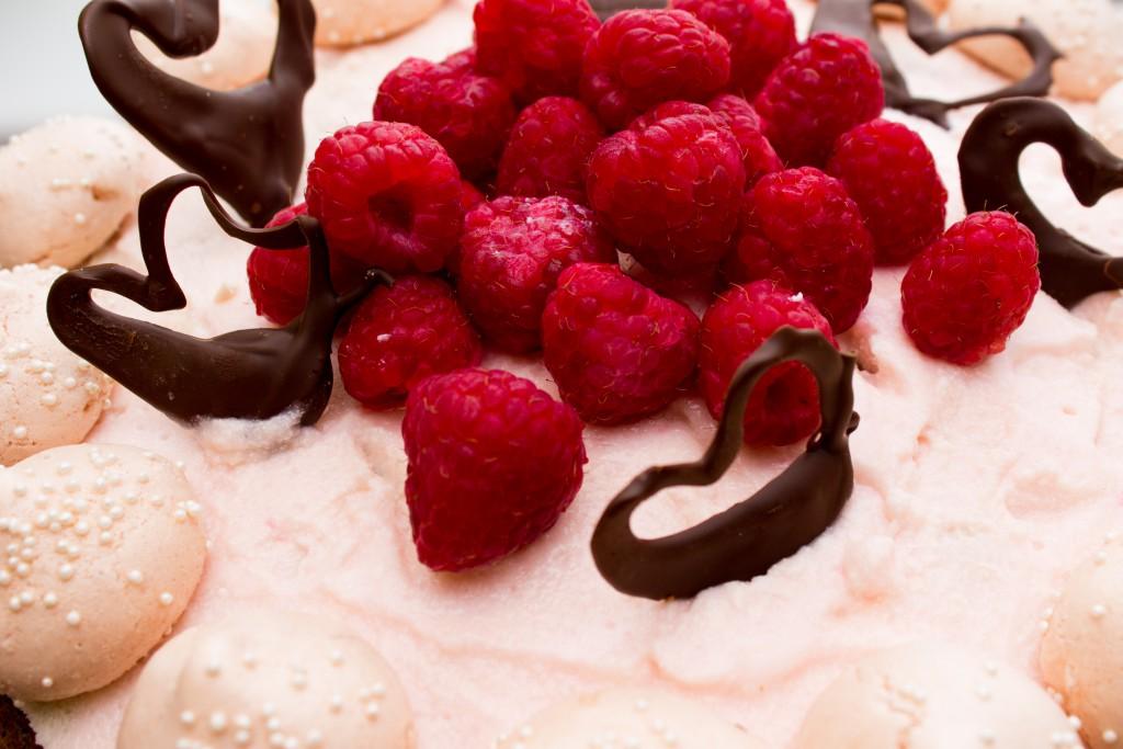 Malinový dort 2-1