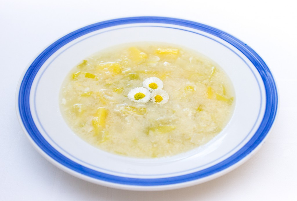 Pórková polévka-1
