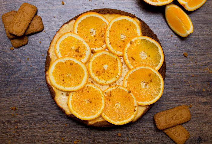 Pomerančový tvarohový koláč-2