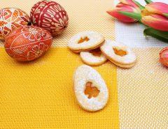 Velikonoční linecké cukroví-1