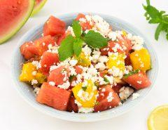 Melounový salát s mangem